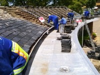 Slate Title Re-roofing